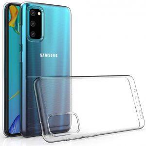 Прозрачный силиконовый TPU чехол Epic Premium Transparent для Samsung Galaxy S20
