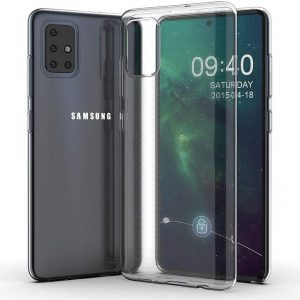 Прозрачный силиконовый TPU чехол Epic Premium Transparent для Samsung Galaxy A71