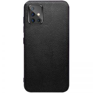 Кожаный чехол Epic Vivi series для Samsung Galaxy A51 – Черный