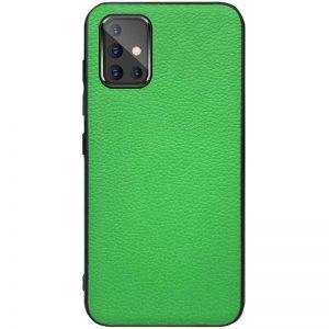 Кожаный чехол Epic Vivi series для Samsung Galaxy A51 – Зеленый