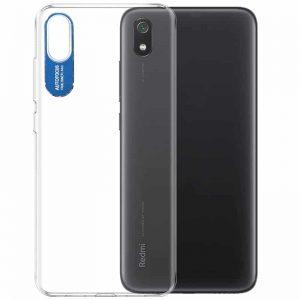 Прозрачный силиконовый TPU чехол Epic clear flash для Xiaomi Redmi 7A – Синий
