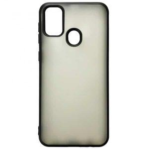 Силиконовый чехол 2.0 mm Matte 2-Line для Samsung Galaxy M30s (M307F) – Black