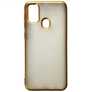 Силиконовый чехол 2.0 mm Matte 2-Line для Samsung Galaxy M30s (M307F) – Gold