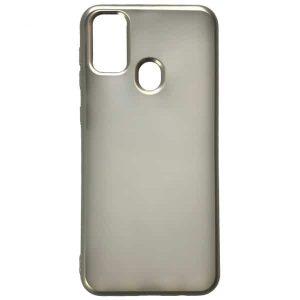 Силиконовый чехол 2.0 mm Matte 2-Line для Samsung Galaxy M30s (M307F) – Silver