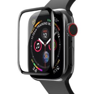 Полимерная пленка VMAX 3D Full Glue для Apple Watch 40 mm / SE 40 mm – Black