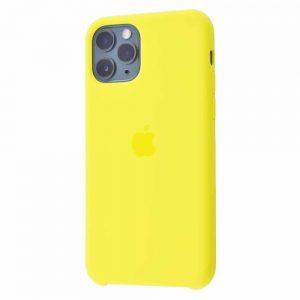 Оригинальный чехол Silicone case + HC для Iphone 11 Pro Max №38 – Flash