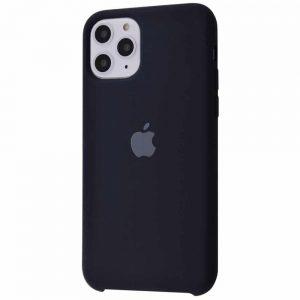 Оригинальный чехол Silicone case + HC для Iphone 11 Pro Max №7 – Black