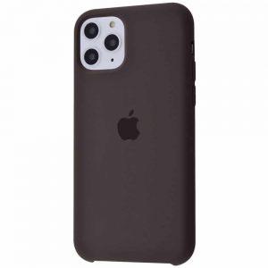 Оригинальный чехол Silicone case + HC для Iphone 11 Pro Max №19 – Cocoa