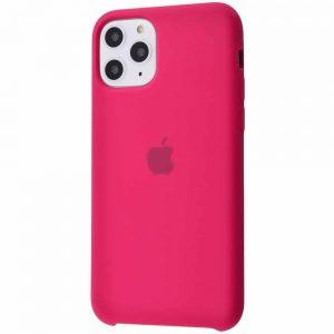 Оригинальный чехол Silicone case + HC для Iphone 11 Pro №4 – Rose red