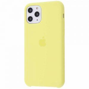 Оригинальный чехол Silicone case + HC для Iphone 11 Pro №43 – Mellow yellow