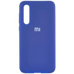 Оригинальный чехол Silicone Cover 360 с микрофиброй для Xiaomi Mi A3 / CC9e – Синий / Navy Blue