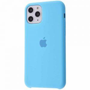 Оригинальный чехол Silicone case + HC для Iphone 11 Pro Max №20 – Blue
