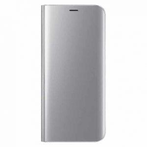 Чехол-книжка Clear View Standing Cover для Samsung Galaxy S10 lite (G770F) — Серебряный