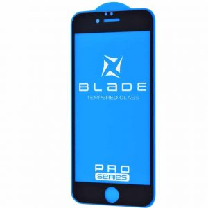 Защитное стекло 3D (5D) Blade Glass Full Glue на весь экран для iPhone 6 / 6s – Black