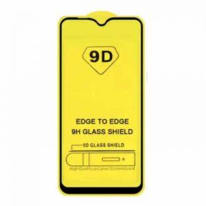 Защитное стекло 9D Full Glue Cover Glass на весь экран для Samsung Galaxy A01 – Black