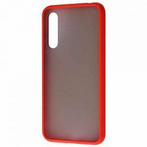 Чехол TPU Matte Color Case  для Xiaomi Mi 9 Lite / Mi CC9 – Red