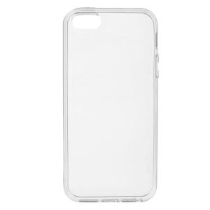 Прозрачный силиконовый (TPU) чехол для IPhone 5 / 5s /SE