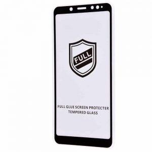 Защитное стекло 3D (5D) Perfect Glass Full Glue на весь экран для Xiaomi Redmi Note 5 / 5 Pro – Black