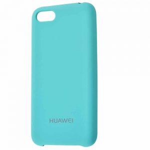 Оригинальный чехол Silicone Case с микрофиброй для Huawei Y5 / Y5 Prime 2018 – Turquoise