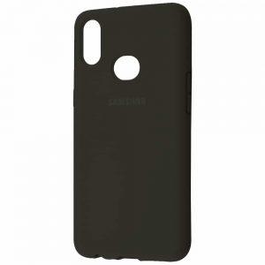 Оригинальный чехол Silicone Cover 360 с микрофиброй для Samsung Galaxy A10s 2019 (A107) – Оливковый / Olive
