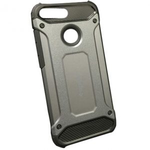 Противоударный бронированный чехол Spigen для Huawei Honor 9 Lite – Серый