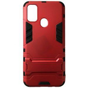 Ударопрочный чехол Transformer с подставкой для Samsung Galaxy M30s (M307F) – Red