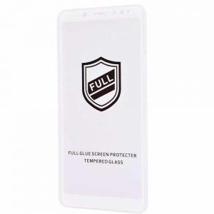 Защитное стекло 3D (5D) Perfect Glass Full Glue на весь экран для Xiaomi Redmi Note 5 / 5 Pro – White