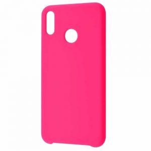 Чехол Silicone Case WAVE Full с микрофиброй для Huawei Y6 2019 / Honor 8A – Pink