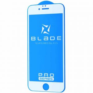 Защитное стекло 3D (5D) Blade Glass Full Glue на весь экран для iPhone 6 / 6s – White
