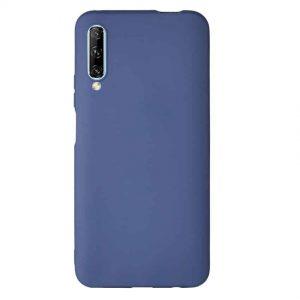 Матовый силиконовый TPU чехол для Huawei P Smart Pro – Navy Blue