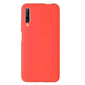 Матовый силиконовый TPU чехол для Huawei P Smart Pro – Red