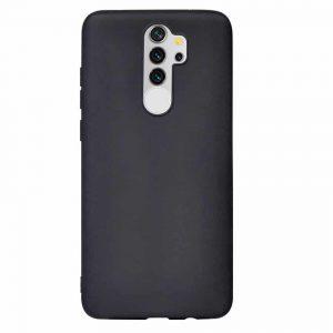 Матовый силиконовый TPU чехол для Xiaomi Redmi Note 8 Pro – Black