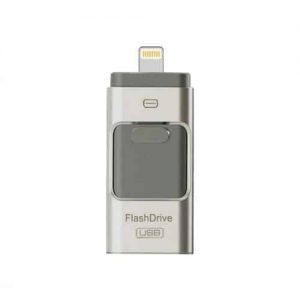 USB флеш – накопитель FlashDrive 32GB для iPad, iPhone – Silver