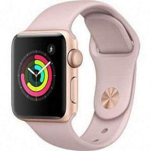 Ремешок силиконовый для Apple Watch 42 mm / 44 mm №8 – Powder