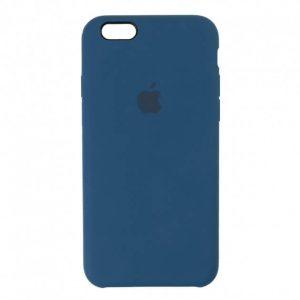 Оригинальный чехол Silicone Case с микрофиброй для Iphone 5 / 5s / 5c /SE №54