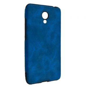 Кожаный чехол Sitched для Meizu M6 – Blue
