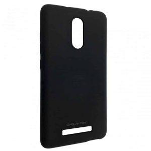 Матовый силиконовый TPU чехол на Xiaomi Redmi Note 3 / 3 Pro – Black