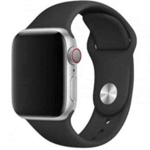 Ремешок силиконовый для Apple Watch 38 mm / 40 mm / SE 40 mm №3 – Grey