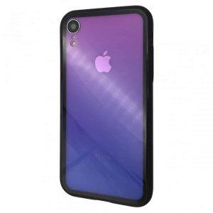 TPU+Glass чехол Back Side Gradient для Iphone XR – Градиент