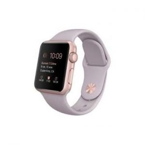 Ремешок силиконовый для Apple Watch 42 mm / 44 mm №34 – Lavender