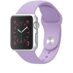 Ремешок силиконовый для Apple Watch 38 mm / 40 mm №39 – Lilac