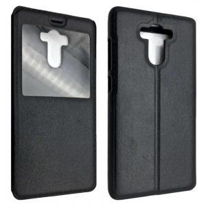 Кожаный чехол-книжка Flip Cover для Xiaomi Redmi 4 / 4 Pro / 4 Prime – Black