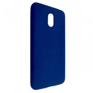 Матовый силиконовый TPU чехол на Meizu M6 – Blue