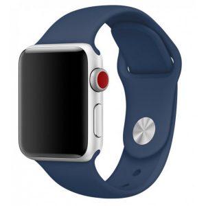 Ремешок силиконовый для Apple Watch 38 mm / 40 mm / SE 40 mm – №54
