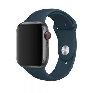Ремешок силиконовый для Apple Watch 42 mm / 44 mm №1 – Corsair