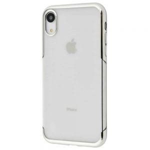 Силиконовый TPU чехол Baseus Shining Case для Iphone XR – Silver
