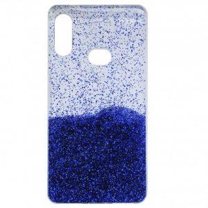 Cиликоновый чехол с блестками Fashion для Samsung Galaxy A10s 2019 (A107) – Blue