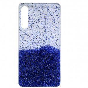Cиликоновый чехол с блестками Fashion для Samsung Galaxy A50 / A30s 2019 – Blue