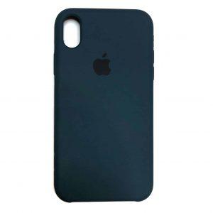 Оригинальный чехол Silicone Case с микрофиброй для Iphone XR №1 – Corsair