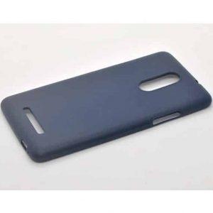 Матовый силиконовый TPU чехол на Xiaomi Redmi Note 3 / 3 Pro – Blue